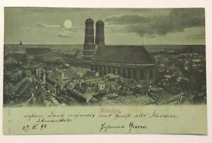 Mondscheinkarte München 1898