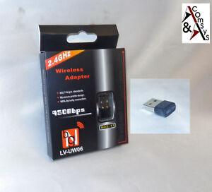 Wireless-Adapter-Mini-USB-2-0-WiFi-WLAN-Dongle-150Mbit-WiFi-802-11n-g-b-2-4GHz