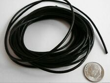 10 Feet 2mm black leather thong beading lace necklace leather cord  m070