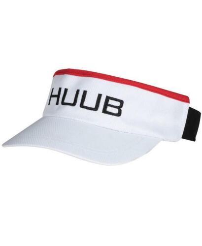Huub Sun Visière Casquette running cyclisme Accessoires triathlon Unisexe Blanc
