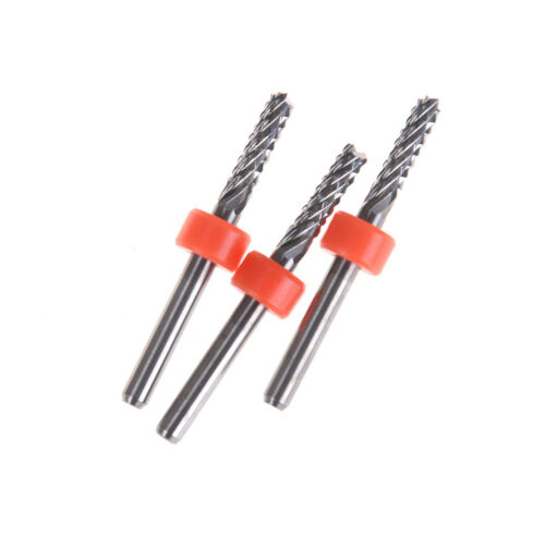 3.175mm Carbide Tungsten Corn Cutter cutting PCB milling bits CNC router bits S*