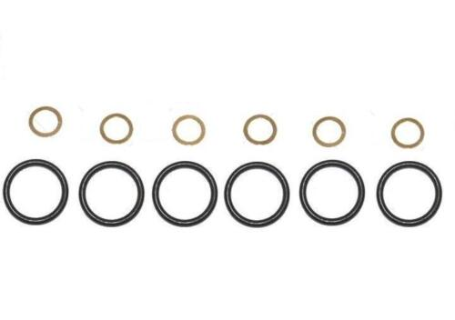 6 gaskets o-ring and 6 washers copper pump Bosch Mercedes 4//5//6 cylinders