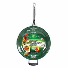 Orgreenic Ceramic Green Non Stick Frying Pan - 12 Inch