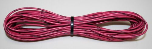 50/' Length of 14 Gauge Red With Black Tracer Tinned-Copper Marine Wire
