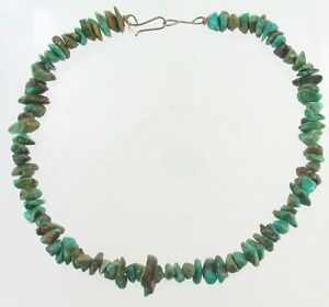 PAWN-CHUNK-TURQUOISE-NECKLACE-NAVAJO-RESERVATION-18-PRETTY