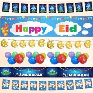 Eid-Mubarak-Party-Decorations-Banner-Balloons-Flags-Bunting-Cards-Gift-Set-2018