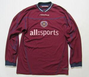 timeless design fd8bc 25d15 Heart of Midlothian FC Hearts LONG SLEEVE shirt jersey ...