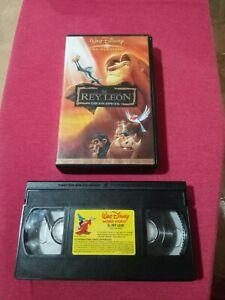 El-Rey-Leon-Edicion-Especial-Pelicula-En-Cinta-VHS-usada
