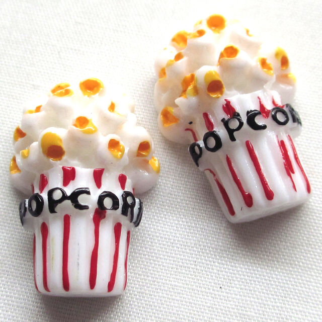 20pcs New Cartoon Popcorn Resin Flatbacks Craft Scrapbooking Lots B0451