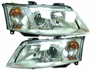 2003 2007 saab 9 3 halogen head lights lamps driver. Black Bedroom Furniture Sets. Home Design Ideas