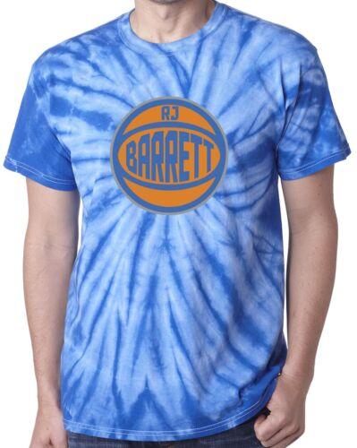 """Tie-Dye RJ Barrett Duke New York /""""Alternate Logo/"""" T-Shirt"""