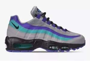 Details about NEW Nike Air Max 95 OG Aqua Grape Wolf Grey AT2865 001 Women's Size 5.5