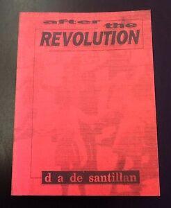After-the-Revolution-by-D-A-de-Santillan-1996-paperback-Jura-Media-reprint