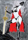 Jean LADY DEATH Pinup Original Art - BENES STUDIO