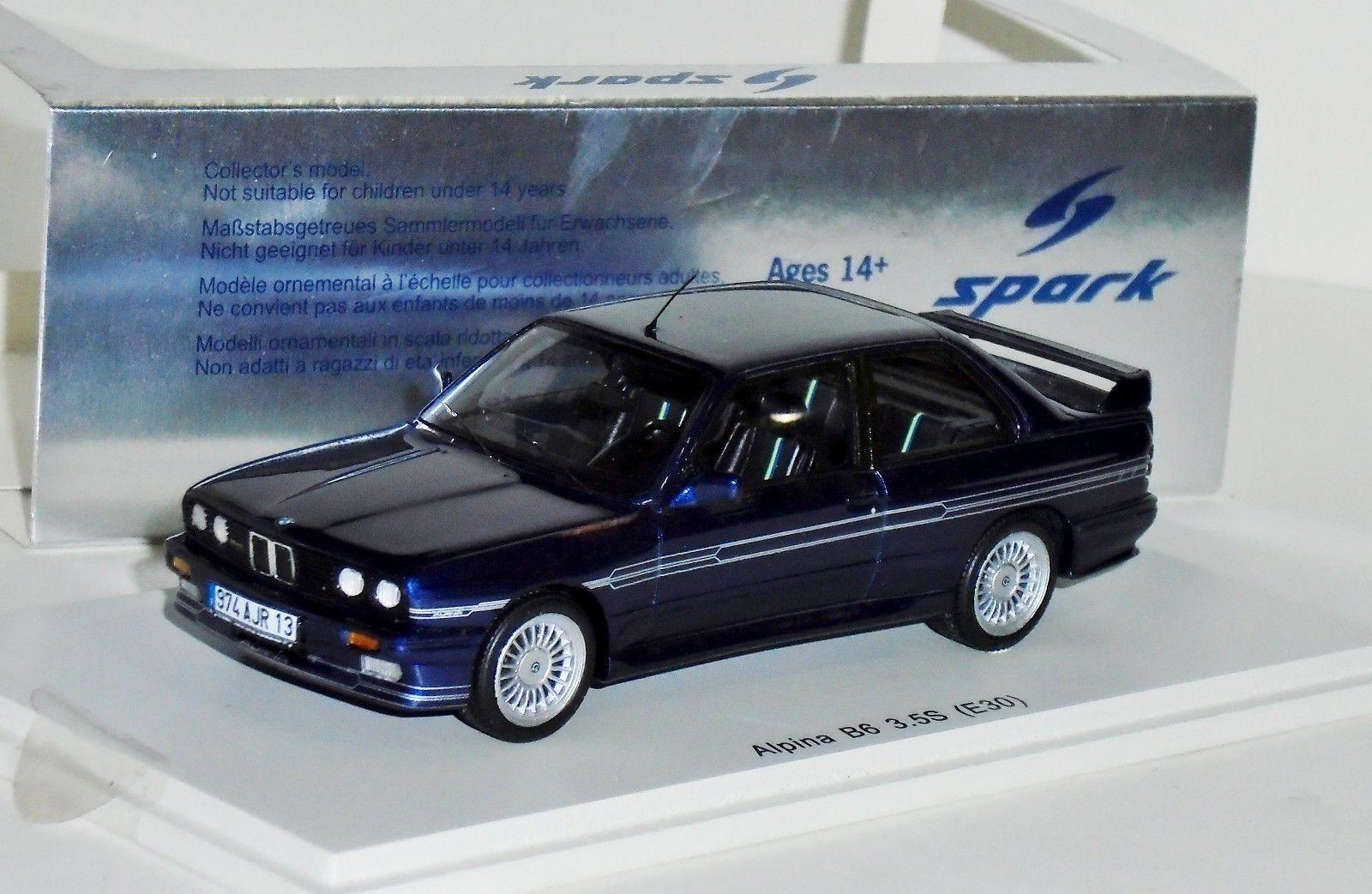 BMW E30 Alpina  B6 3.5 Spark S2805 1 43  les clients d'abord