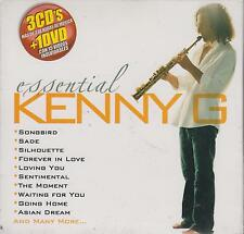 CD - Kenny G NEW Essential 3 CD's & 1 DVD FAST SHIPPING !