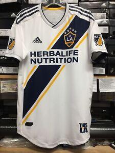 87911cbff69 Adidas New Mls La Galaxy Home Jersey 2019 White Name Authentic Size ...