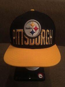 Image is loading Pittsburgh-Steelers-New-Era-SnapBack-Hat cc41d17ada12