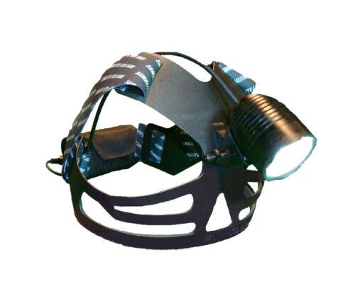 LED Headlight Super Bright 1200 Lumens Samalite HL600F Power Belt 13Ah