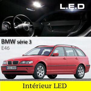 Kit-eclairage-interieur-ampoules-a-LED-Pour-BMW-Touring-E46-serie-3-Break