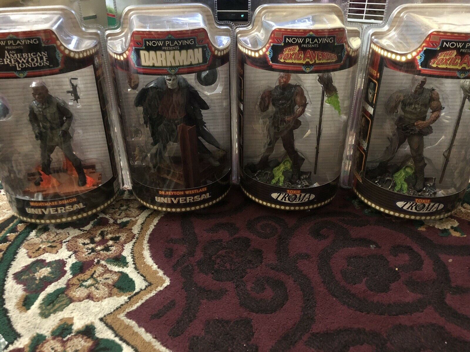 Sota Now Playing Present Series 1 Action Figures With Varient Set Of 4.
