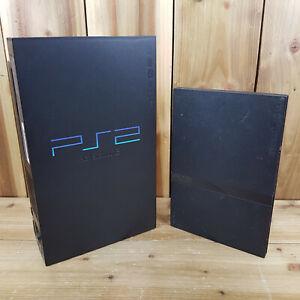 Para Repuestos O Reparación Sony Playstation 2 PS2 Consola bulto Leer descripción x2