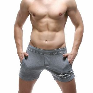 Mens-Summer-Fitness-Running-Gym-Training-Sport-Home-Casual-Shorts-Joggers