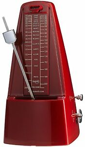 Cherub Metronome WSM-330 Red Mechanical Metronome