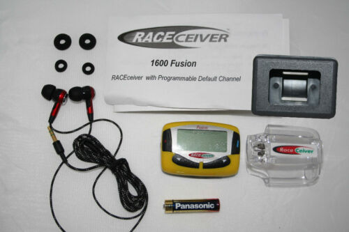 RACEceiver Fusion Driver Radio w// Earbuds /& Car Box