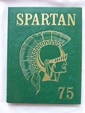 1975 DE LA SALLE HIGH SCHOOL YEARBOOK CONCORD, CALIFORNIA SPARTAN UNMARKED!!!