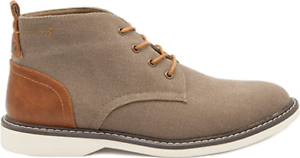 New Men's London Fog Belmont Lace Up Dusty Brown Cognac Chukka Boot Shoe Size 11