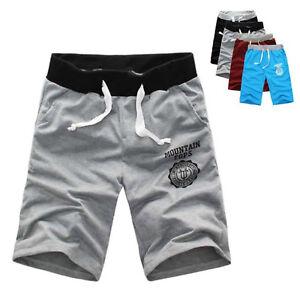 Summer-Men-Casual-Sport-Shorts-Pants-Gym-Trousers-Jogging-Trousers-Cotton-Shorts