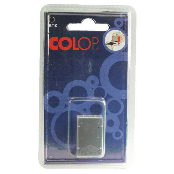 Colop E/10 Replacement Pad Black (Pack of 2) E10BK