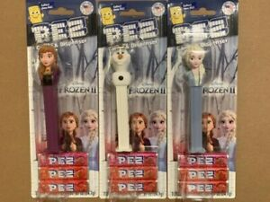PEZ-FROZEN-II-ELSA-ANNA-OLAF-CANDY-amp-DISPENSER-SET-OF-3