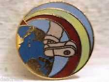GRATEFUL DEAD ORIGINAL RAINBOW FOOT 1 inch DEAD RELIX PIN