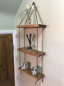 pretty nice 61838 fc66a Details about Rustic Shelving Unit handmade