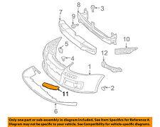 NEW FRONT RIGHT BUMPER MOLDING PLASTIC FOR 05-10 VOLKSWAGEN JETTA 1K0807718BGRU