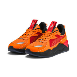 super cheap compares to in stock low priced Details about PUMA RS-X Toys Hotwheels Camaro Sneakers Shoes-  Orange/Black(370403-01/37040301)