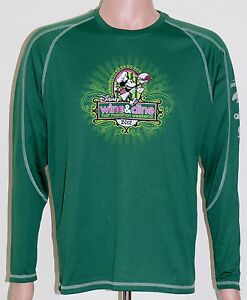 Walt-Disney-World-2012-Wine-Dine-Half-Marathon-Athletic-Long-Sleeve-Shirt-MEDIUM