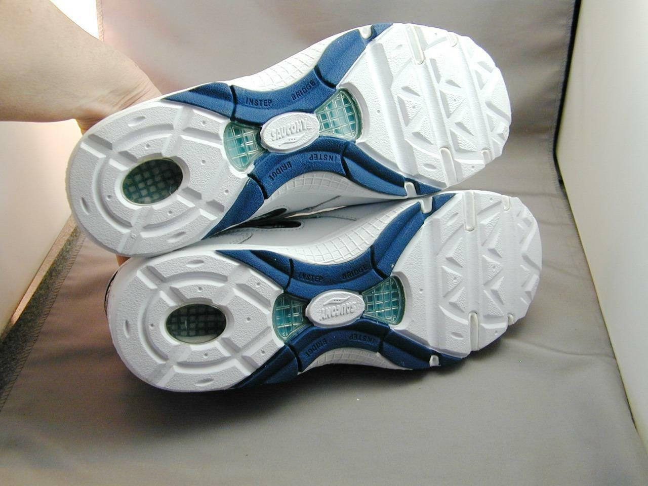 Saucony Saucony Saucony Grid Motion Women's White & Navy 9 1 2 W Walikng shoes NIB c09387