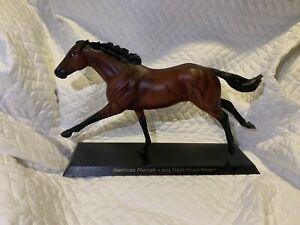 breyer american pharoah horse model