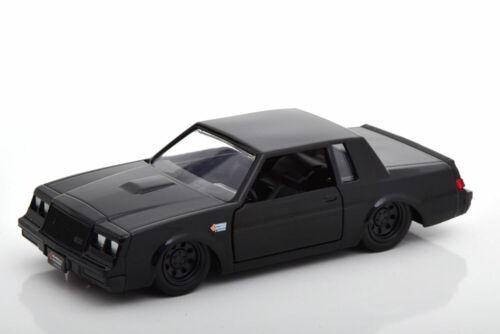 1:32 Jada Buick Grand National Fast /& Furios Dom black