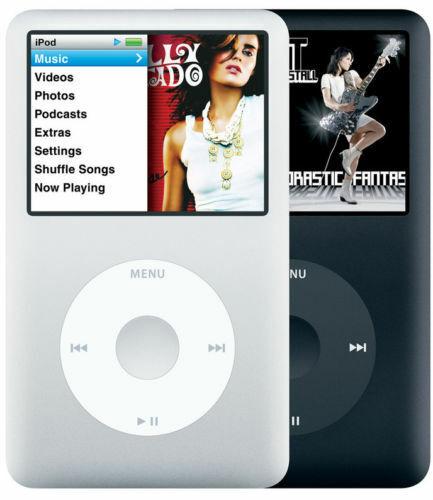 Apple iPod Classic 5th or 7th Generation 6th 30GB, 60GB, 80GB, 120GB, 160GB