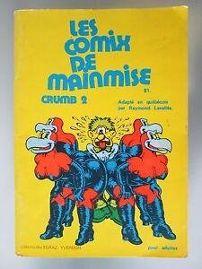 BD-COMIX-MAINMISE-CRUMB-2-CARTOON-EGRAZ