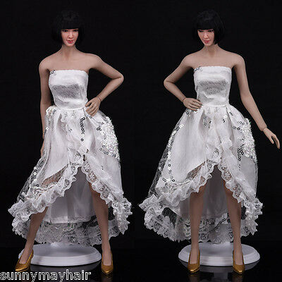 1:6 Scale Female Lace Dress Skirt Clothes for 12/'/' Women Action Figure Body