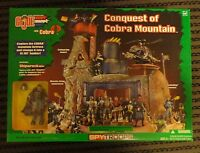 Gi Joe Conquest Of Cobra Mountain Playset Rare Mint Misb Shipwreck