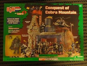 Details about GI Joe CONQUEST of COBRA MOUNTAIN playset RARE *MINT* MISB  Shipwreck