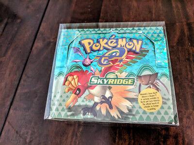 Pokemon Booster Box PROTECTIVE PLASTIC BOX NO CARDS//BOOSTER BOX read description