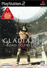 USED Gladiator: Road to Freedom Japan Import PS2