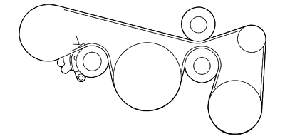 Nissan Genuine OEM Factory Belt-Fan/&Altern 11720-JA10B